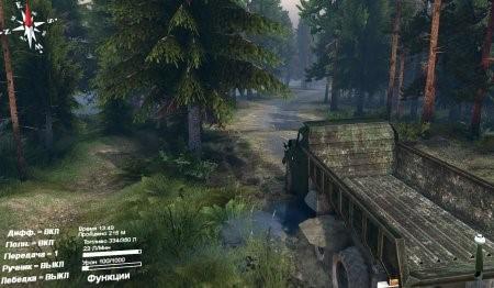"""Карта """"Rail road builder"""" для SpinTires 4.2.15"""