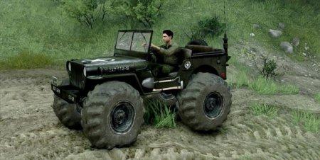 Скачать мод Jeep Willys для Spintires v. 13.04.2015