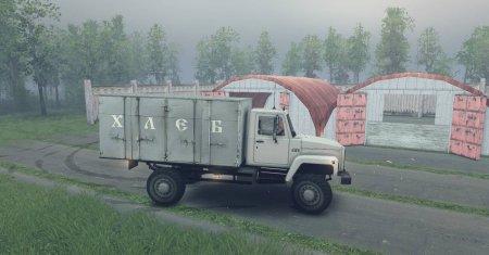 Скачать мод грузовик Газ-САЗ-2506