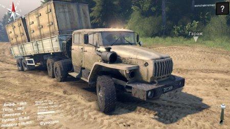 Скачать мод грузовик Урал 4320-1982-40 для Spintires 13.04.15