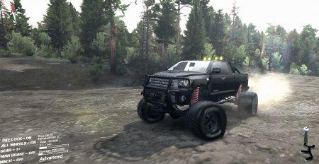 Скачать мод Toyota Tundra OFFroad для Spintires 2014