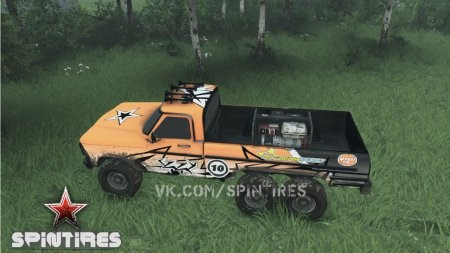 Скачать мод Ford (Truck Fire jump) для Spintires 13.04.15