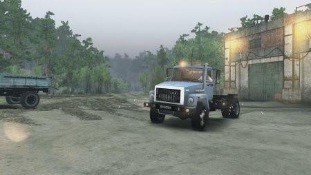 Скачать мод грузовик Газ-3309-