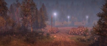 """Карта """"Порт"""" для SpinTires 13.04.15"""
