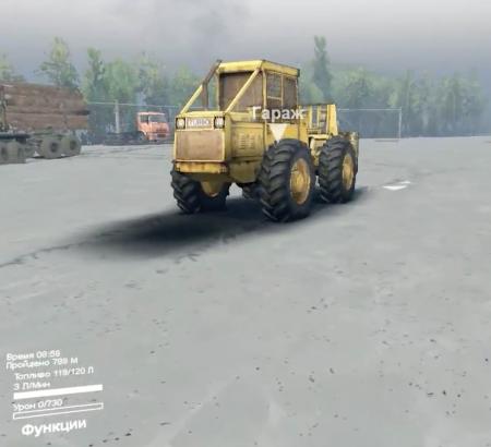 """Скачать мод трактор LKT 81 Turbo """"Lakatoš"""" для SpinTires"""