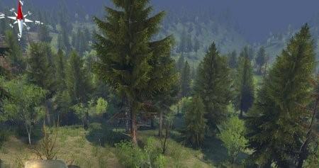 Карта Иркутский край для SpinTires