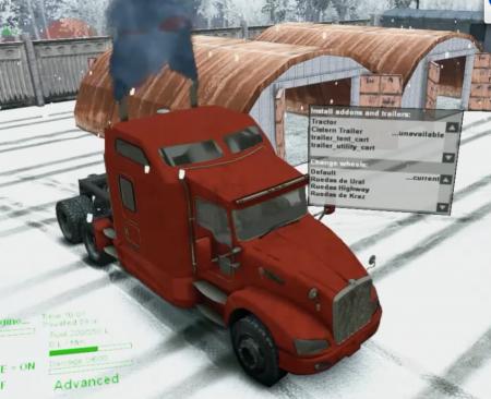 Скачать мод грузовик Kenworth T660 для Spintires 13.04.15+