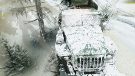 Зимний сезон + Падающий снег для SpinTires 13.04.15
