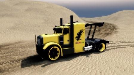 Скачать мод грузовик Peterbilt Sport Truck – Spintires 2014