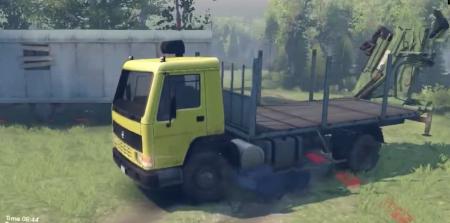 Скачать мод грузовик Volvo FL7 для Spintires