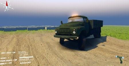Скачать мод грузовик ЗиЛ-130 для Spintires 13.04.15