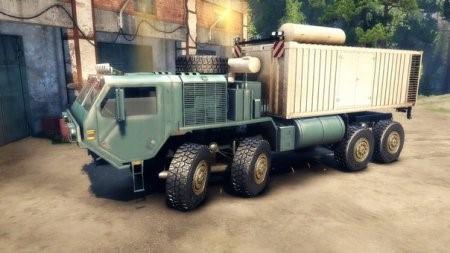 Скачать мод грузовик OSHKOSH HEMTT – SPIN TIRES 2014