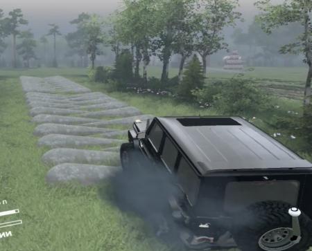 Скачать мод Mercedes G 65 AMG 6x6 Final для Spintires 13.04.2015