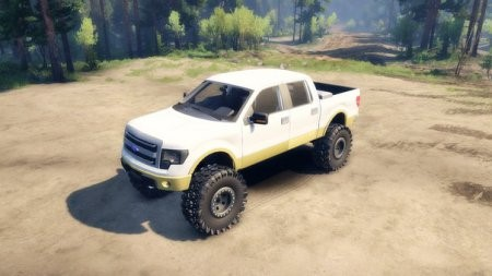 Скачать мод FORD F150 1.1 – SPIN TIRES 2014