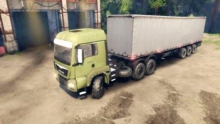 Скачать мод грузовик MAN TRUCK – SPIN TIRES 2014