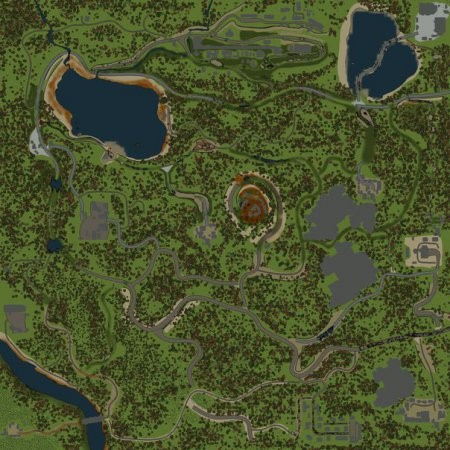OZERA MAP – SPIN TIRES 2014