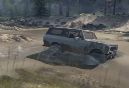 Скачать мод SID 1977 International Scout II для Spin Tires v. 03.03.16