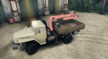 Скачать мод грузовик URAL 43206 4×4 – SPIN TIRES 2014