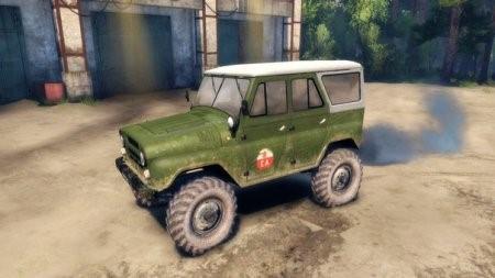 Скачать мод UAZ BASED GAZ 66 для Spintires от 13.04.2015