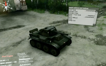 Скачать мод MK. VII TETRARCH (A17) LIGHT TANK 1.0 – SPIN TIRES 2014