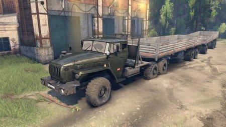 Скачать мод грузовик Урал-380С-862 (10х10) v 1.0 для SpinTires