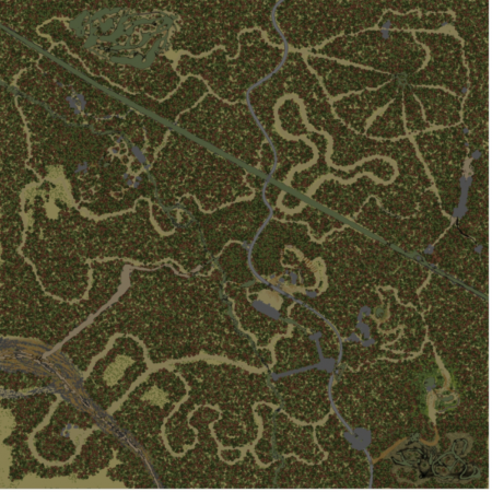 Map – Blackwater Mojave Green
