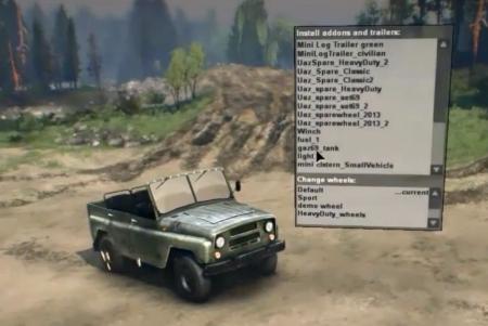 Скачать мод УАЗ-469 для Spintires 2014