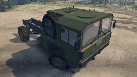 Скачать мод грузовик MAN KAT 4x4 1.0 для Spintires 13.04.15