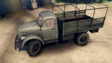 Скачать мод грузовик GAZ-69 – SPINTIRES 2014