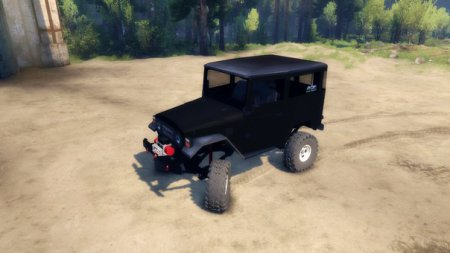TOYOTA BJ40 2.0 – SPINTIRES 2014
