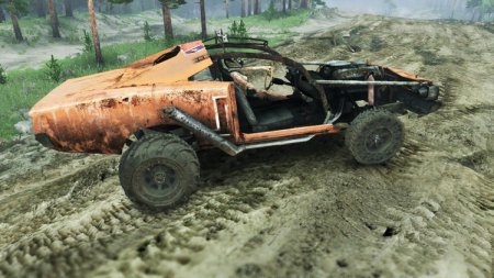 Скачать мод DODGE HL2 ORANGE – Spintires 13.04.15