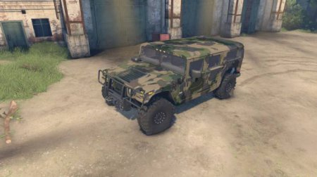 Скачать мод Brute Hummer H1 v1.0 для Spintires 13.04.15