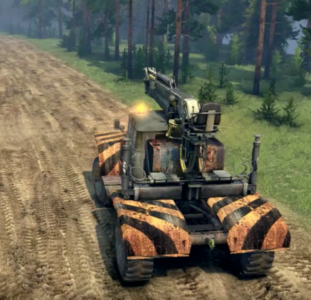 Скачать мод грузовик URAL 4320-01 – SPINTIRES 2014