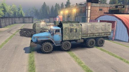 Скачать мод грузовик Урал 6614 v4 для Spintires 13.04.15