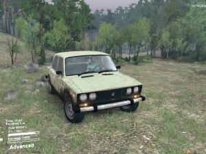 Скачать мод ВАЗ-2106 для Spintires