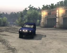 Скачать мод Land Rover Discovery 1997 для Spintires 2015