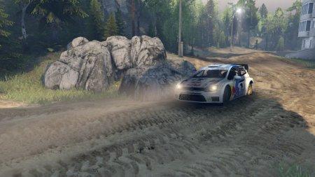 Скачать мод Volkswagen Polo WRC для Spintires