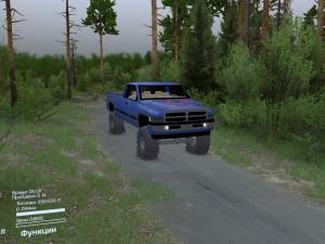 Скачать мод Dodge Ram Ext. Cab 1996 для Spintires v. 03.03.16