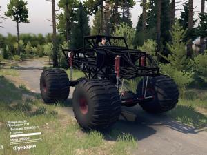 Скачать мод Monster Wagon для Spintires v. 03.03.16