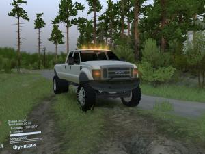Скачать мод Ford F450 для Spintires v. 03.03.16