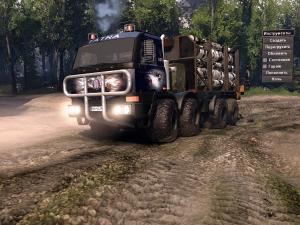Скачать мод грузовик TATRA Terrno 8x8 для Spintires v. 03.03.16