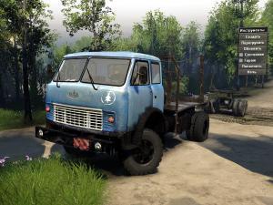 Скачать мод грузовик МаЗ-509 для Spintires v. 03.03.16