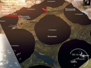 Скачать мод карта «Заброшенный город» для Spintires v. 03.03.16
