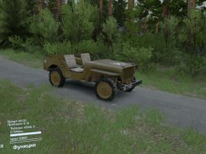 Скачать мод Jeep Willy 1942 для Spintires v. 03.03.16