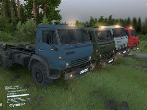 Скачать мод грузовик КамАЗ-43101 для Spintires v. 03.03.16