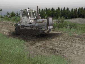 Скачать мод Трактор Т-150 на гусеничном ходу для Spintires v. 03.03.16