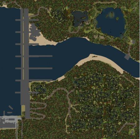 Скачать мод карта «GES» для Spintires v. 03.03.16