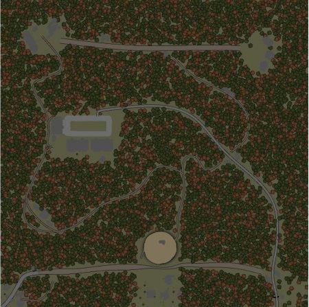 Скачать мод карта «В условиях радиации» для Spintires v. 03.03.16
