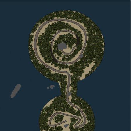 Скачать мод карта «Спираль» для Spintires v. 03.03.16
