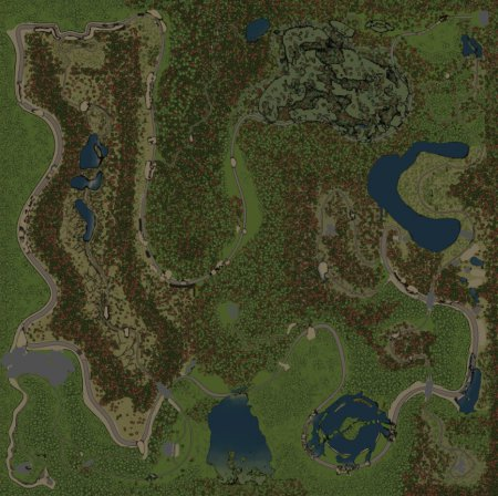 Скачать мод карта «Углово» для Spintires v. 03.03.16